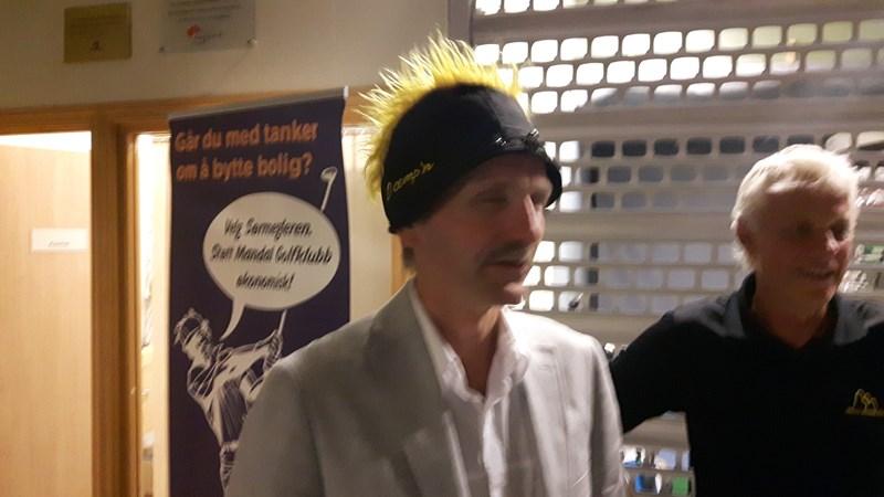 """Arnt fikk """"nebbeprisen"""""""