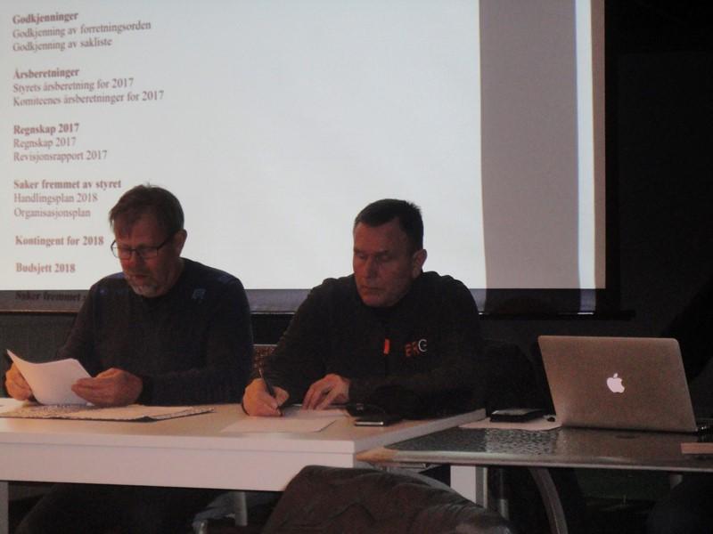 Svein A  Bårdsen og Raymond Tørresen