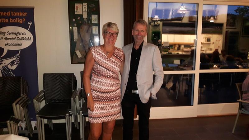 Arnt og Elisabeth ble nr 2 i turneringen