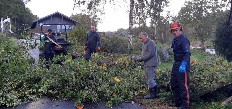 Dugnadsgjengen , Kjell Horpestad, Trond C Høiberget, Kjell Røisland og Rune Svennevik (foto per j)