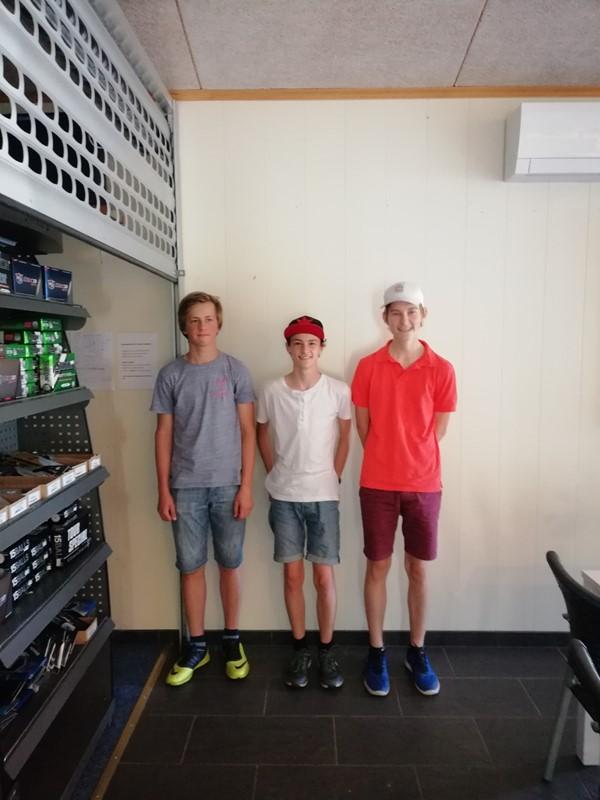 Vinnertrioen; Bjørn, Miller og Magnus