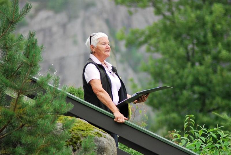 Anna Eikestøl gir sin informasjon (foto per j)