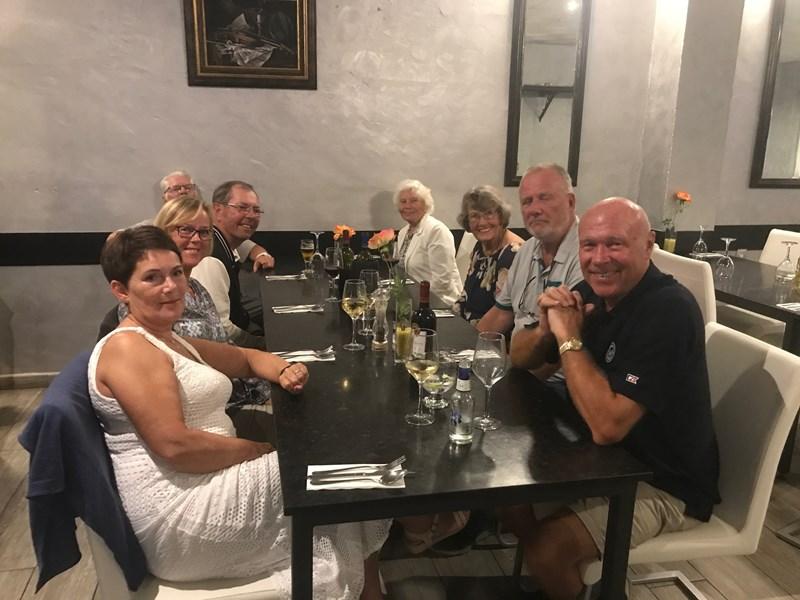 Fra middagen på restaurante Isabelas (foto Bernt W Egeland)