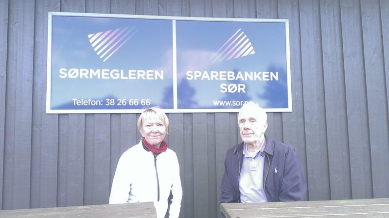 Arkrivfoto av Arnar M Egeland og Tutti Ericson nr. 1 og 2 ifjor