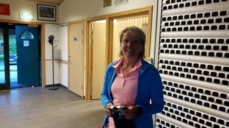 Paula O Pedersen ble nr 3