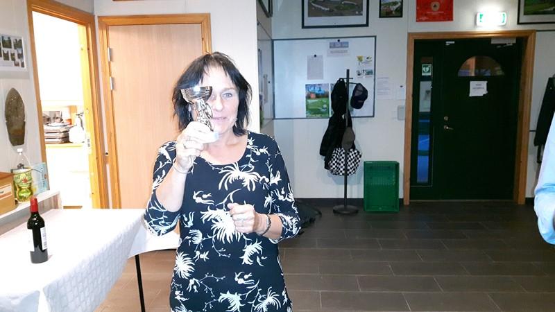 Anne Grete vant chippekonkurransen for damene