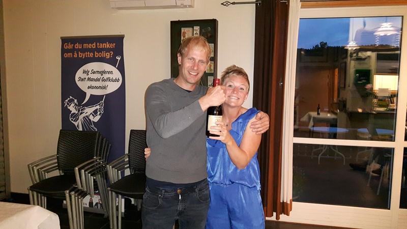 Edmund og Sissel vant turneringen
