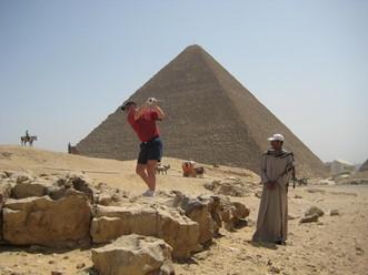 Golfing i Egypt