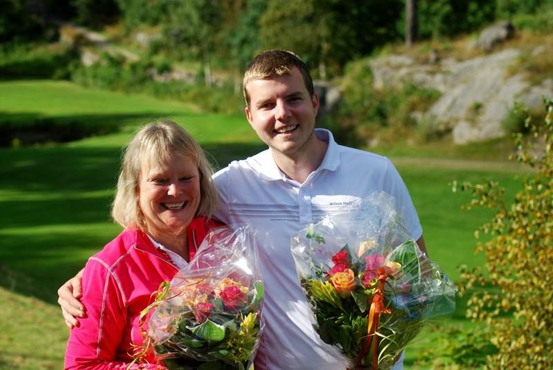 Årets klubbmestere Mette Erklev og Simen S Jørgensen (alle foto per j)
