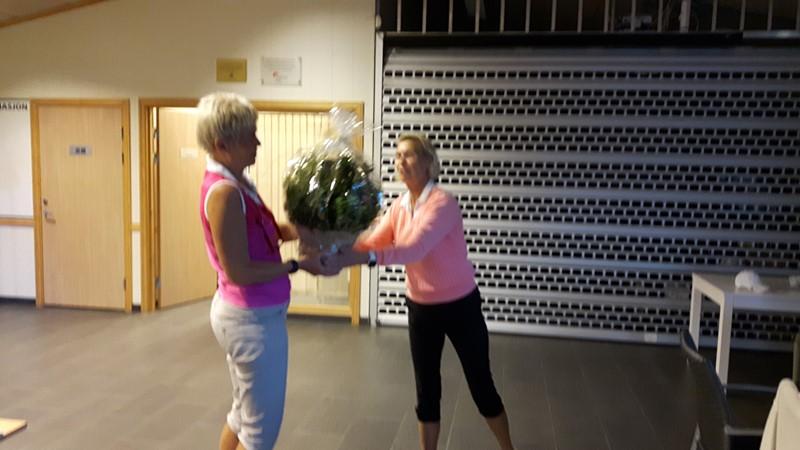 Vi får en flott blomst av Kristiandsandsdamene