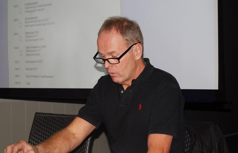 Rune Svennevik gjenvalgt som leder (foto p jørgensen)