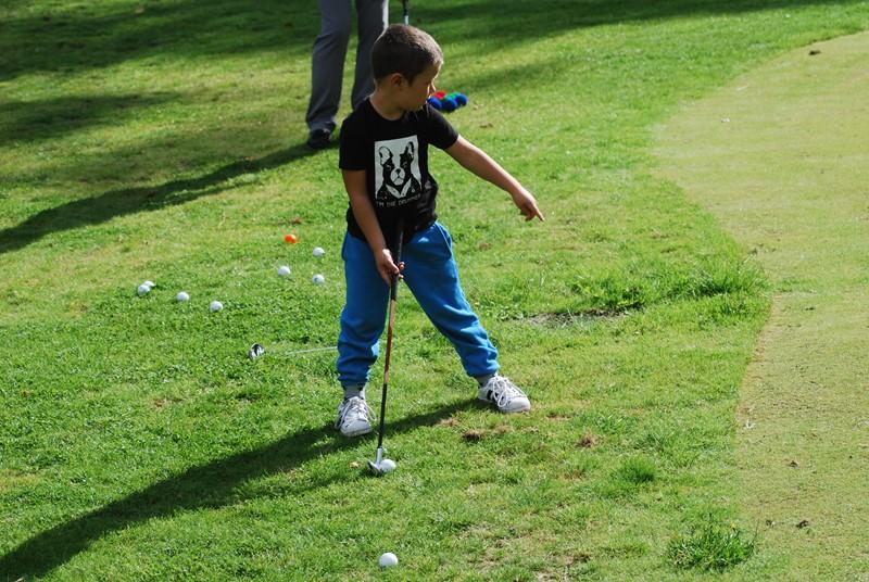 Skal tidlig krøkes om god golfer skal bli