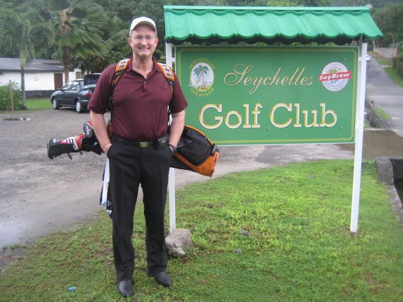 Klar til spill på Seychelles Golf Klubb (alle foto C Jacobsen)