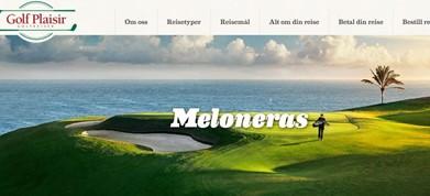 Golfspill 5 dager på Meloneras Golf.