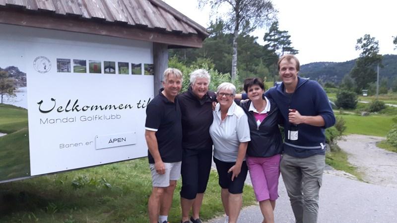 Mini Jakobsen, Anne Rita Meberg, Reidun B. Ramfjord, Turid Røksland og Stian Sivertzen