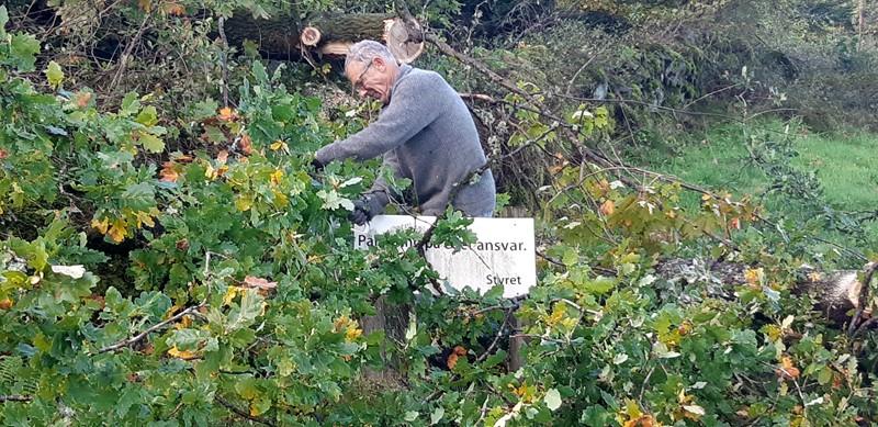 Kjell Røisland i aksjon (foto per j)