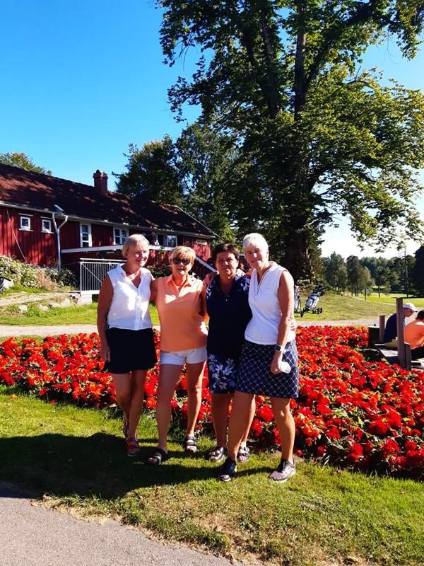 Fra v. Tutti Ericson, Turid Røksland, Wenche H Vetås og Britt Andersen