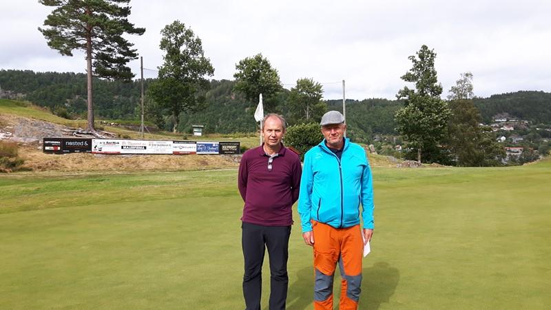 Andreplassen gikk til Jan Erik Hageland og Hans Kristian Larsen