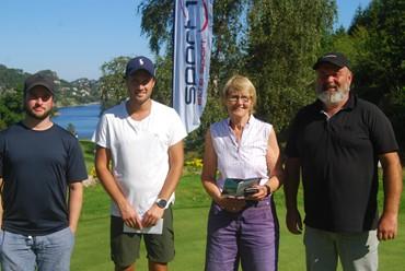Anne-Grete Nøding vinner av Sport1 Open søndag.