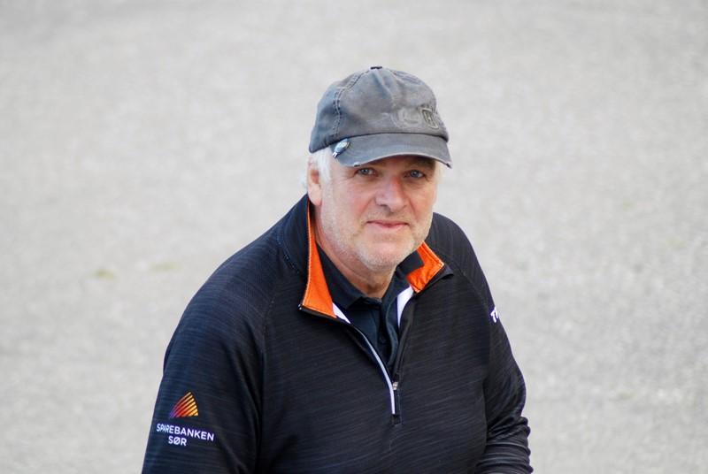 Bjørnar Møll leder klasse B (foto per j)