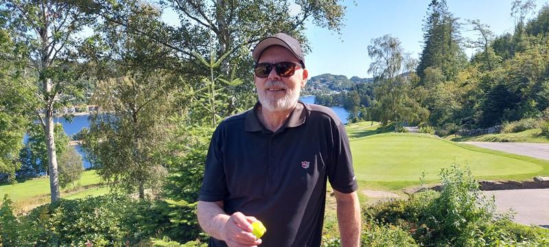 Svein Sivertsen med HiO torsdag (foto per j)