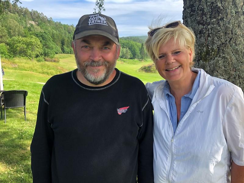 Knut Kvaal Pedersen og Turid Røksland var knallsterke gjennom den fire dagar lange Sørlandstour med klassesigrar tre av fire dagar. (fote k lavik)
