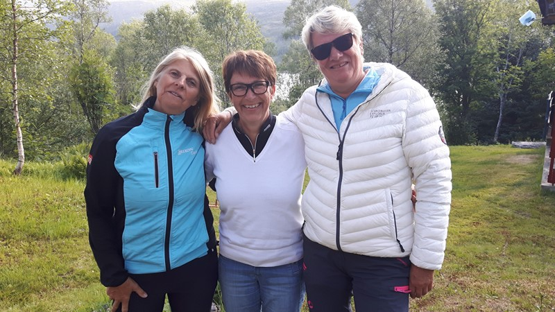 Vinnerlaget, Anne, Mariann og Elisabeth.