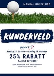 Kundedager Sport1 Mandal