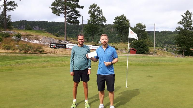 Tredjeplassen gikk til Thomas Holdbakk og Alfred Furnes fra Kristiansand.